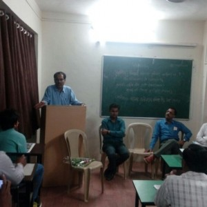 Address by Shri.A.S.Dabir, Regional Officer, MCED