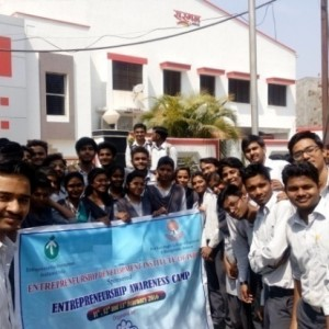 Students at Industrial visit